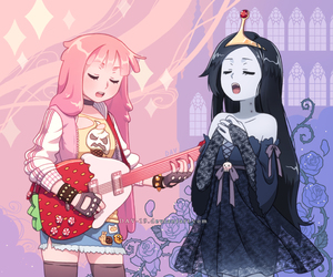 marceline, adventure time, and anime image