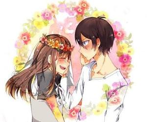 noragami, yatori, and anime couple image
