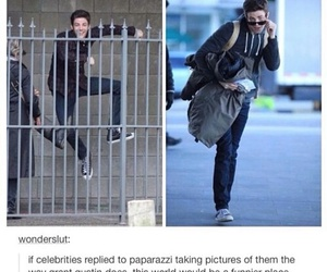 grant gustin, funny, and tumblr image