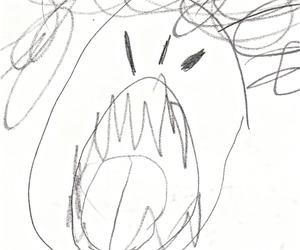 angry, art, and artist image