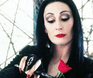 morticia, rose, and Morticia Addams image