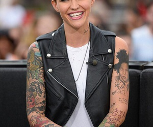 beautiful and ruby rose image