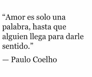 amor, paulo coelho, and quote image
