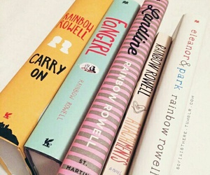 books and rainbow rowell image