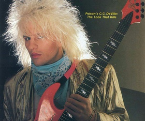 glam metal, poison, and hair metal image