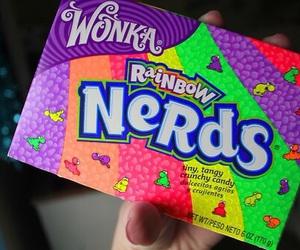 nerds, candy, and wonka image