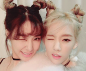 snsd, taeny, and tiffany image