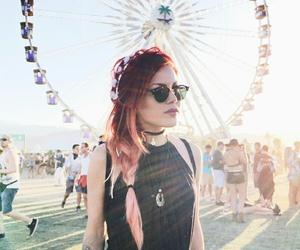 coachella, dress, and festival image