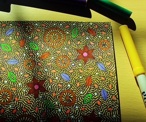 abstract, art, and art therapy image