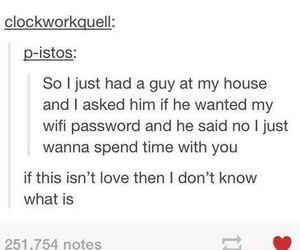 love, tumblr, and wifi image