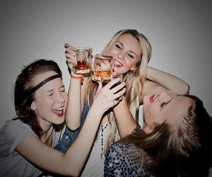 girl, Hot, and party image