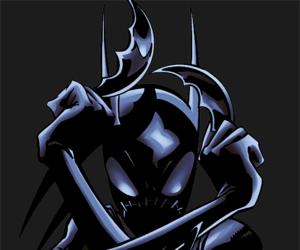 batgirl, dc comics, and black bat image