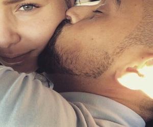 couple, kiss, and thug love image