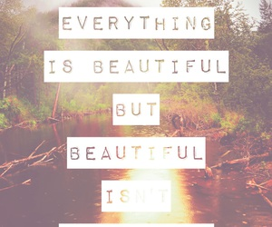beautiful, nature, and quote image
