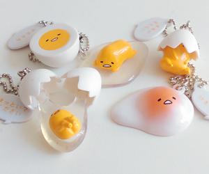egg, keychain, and cute image