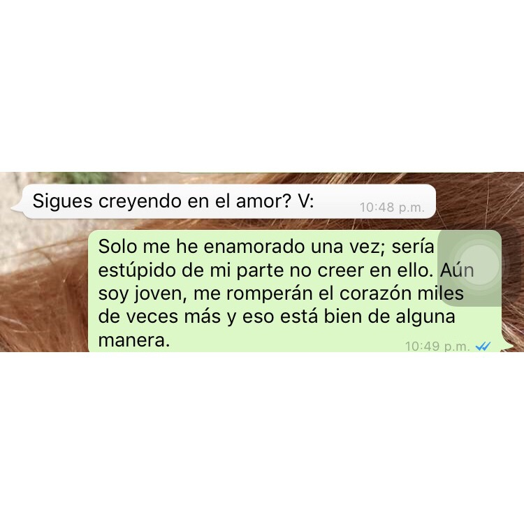 amor, chat, and frases image
