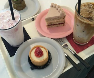 cake, food, and cafe image