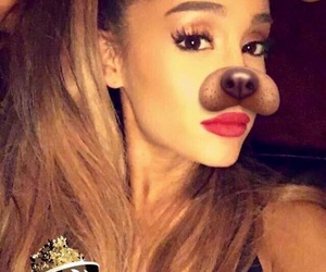 arianagrande and snapchat image