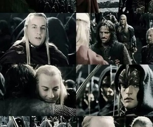 aragorn, elf, and LOTR image