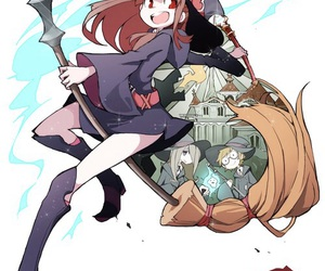 anime and little witch academia image