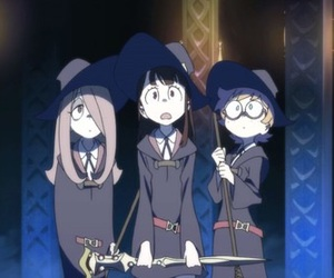 anime, lotte, and little witch academia image
