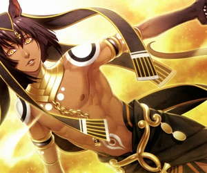 kamigami no asobi, anime, and anubis image