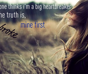 heartbreak, text, and quote image