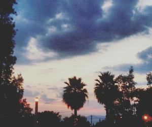 cielo, paisaje, and rosa image
