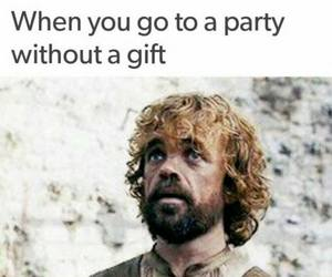 funny, game of thrones, and gift image