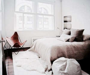 interior, bedroom, and bed image