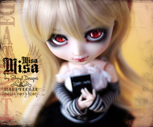 death, doll, and eyes image