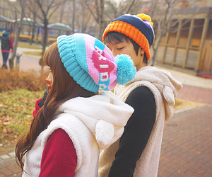 cute, couple, and ulzzang image