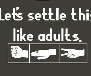 Adult, funny, and quote image