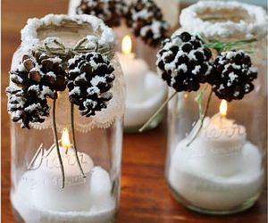 christmas, diy, and candle image