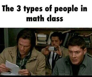 funny, supernatural, and math image