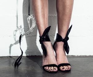black, designer, and fashion image