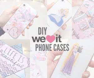 video, floral princess, and diy phone cases image