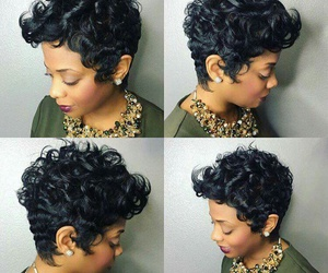 curls, cuts, and hair image