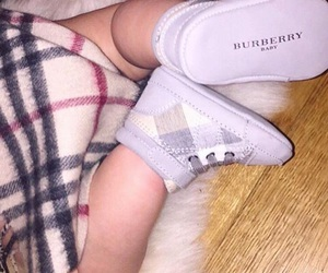 baby and Burberry image