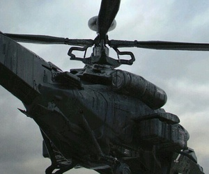 black and helicopter image
