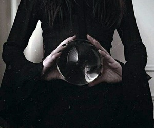 witch, black, and magic image