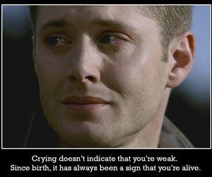 dean, quote, and spn image