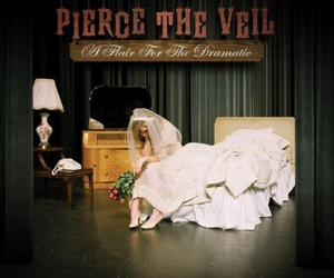 pierce the veil, band, and a flair for the dramatic image