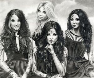 drawing, pretty little liars, and art image