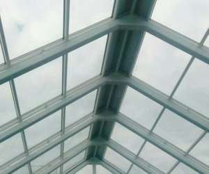 aesthetic, glass, and sky image
