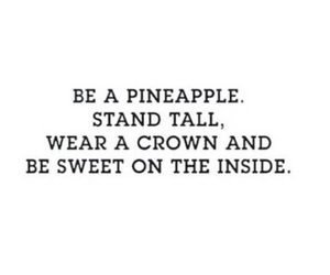 fun, pineapple, and quote image