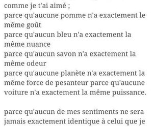amour, citation, and texte image
