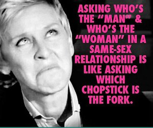 quote, funny, and ellen degeneres image