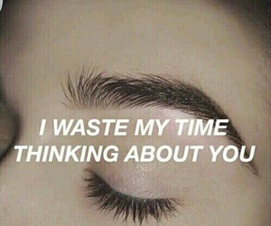 quote, grunge, and time image