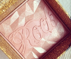 glitter, makeup, and blusher image